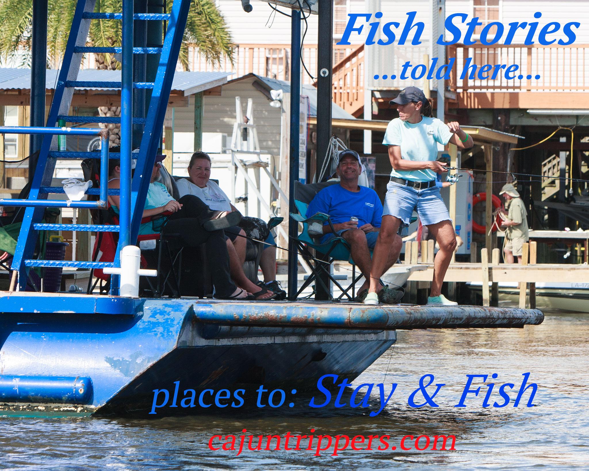 Salt Water Fishing in Pointe aux Chenes