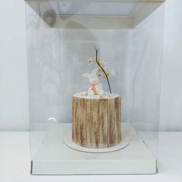 caixa para bolo alto