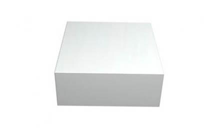 caixa para bolo branca 40cm caixas