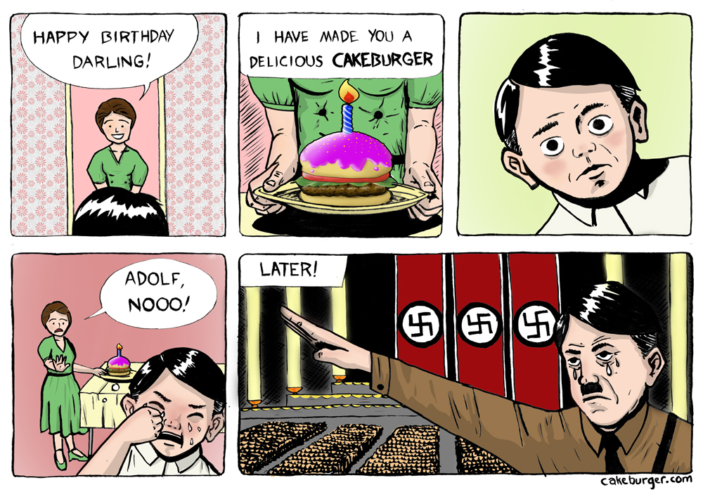 A plausible origin story for Hitler's madness, in comic form.