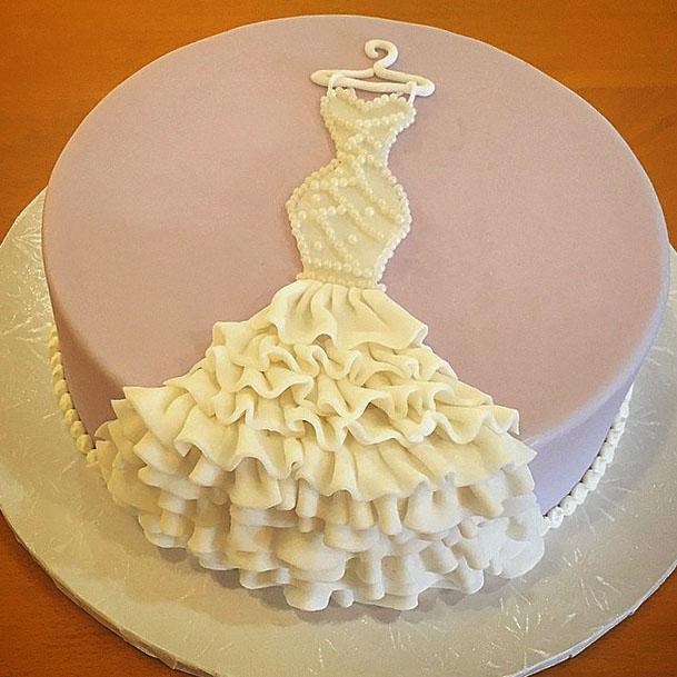 Designer Bridal Shower Cake Creative Bridal Shower Cakes