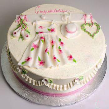 Flowers Design Bridal Shower Cake Creative Bridal Shower Cakes