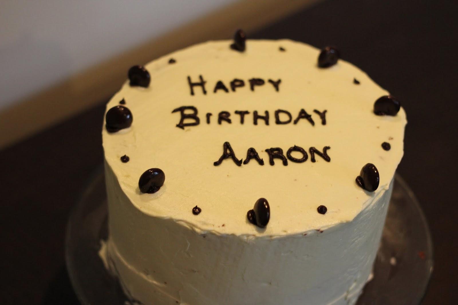 Aaron Birthday Cakes
