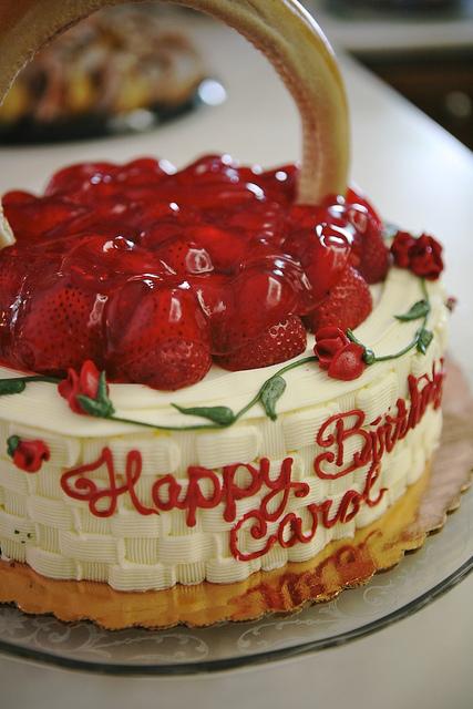 Carol Birthday Cakes
