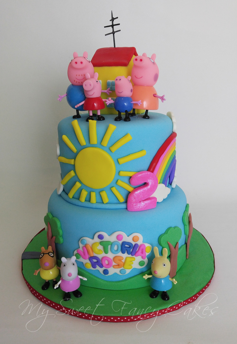 Peppa Birthday Cakes