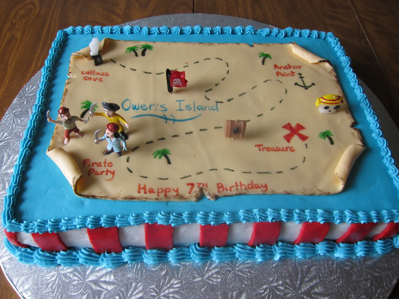 Treasure Birthday Cakes