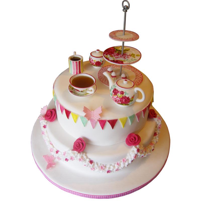 Tea Birthday Cakes