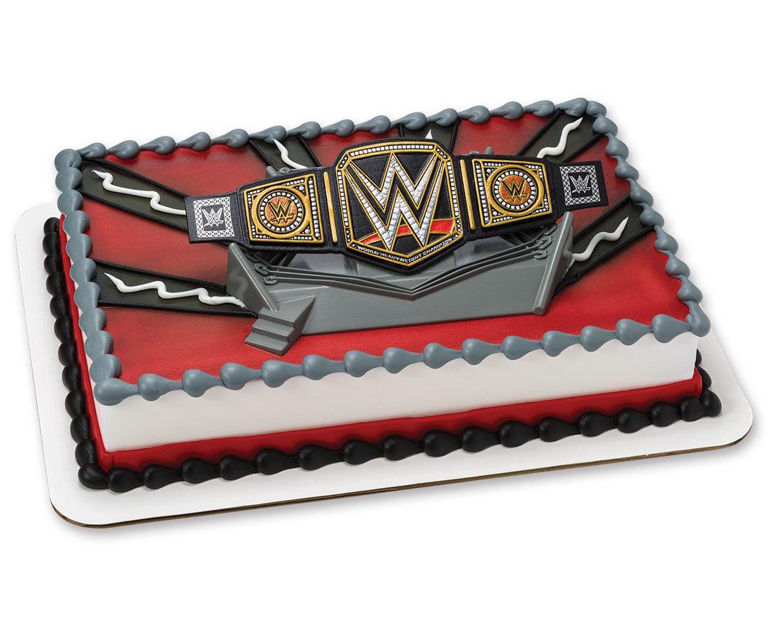Wwf Birthday Cakes