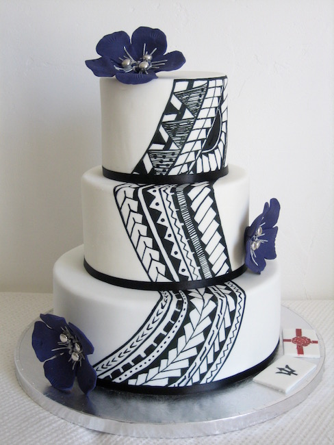 Samoan Wedding Cakes