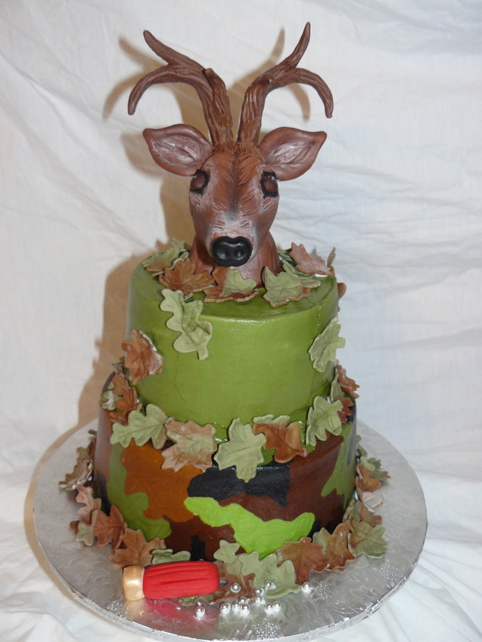deer birthday cakes