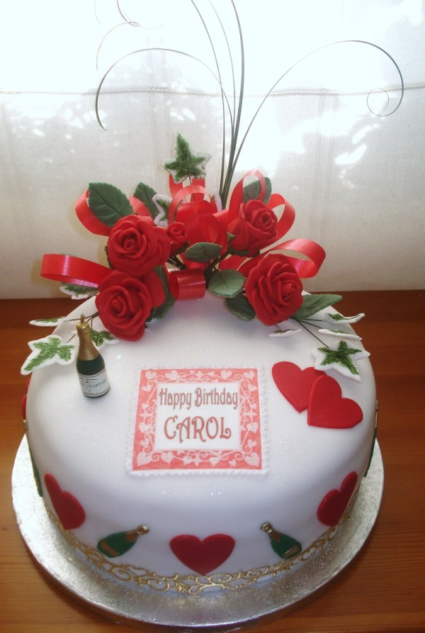 20 Happy Birthday Carol Cake Pictures And Ideas On Meta Networks