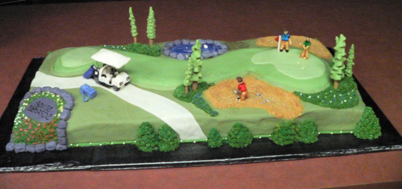 Golf Wedding Cakes