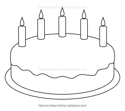 Drawing Birthday Cakes