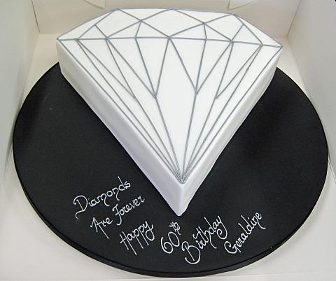 Diamond Birthday Cakes