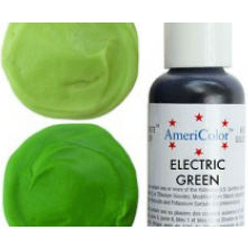 Americolor  ELECTRIC GREEN  Soft Gel Paste Icing Food