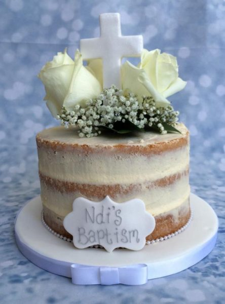 Your Christening Day Cake