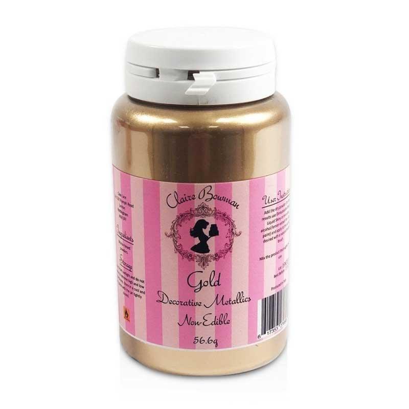 poudre lustrant or metallique claire bowman