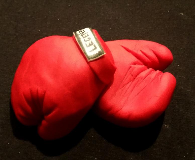 Boxing Gloves Cake Topper Fondant Boxing Gloves Cake