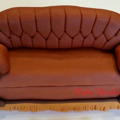 Sofa From Friends Wooden Legs Uk Couch And Coffee Cups Cake Topper Kit Fondant