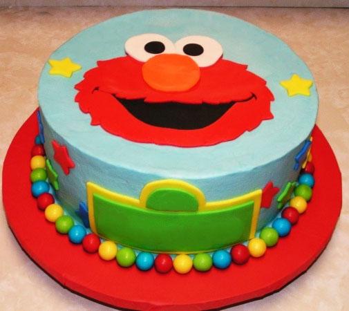 Elmo Birthday Cake Fondant Cakes In Lahore Free Delivery