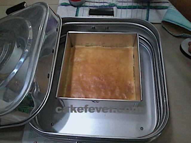 Memanggang Lapis legit dengan Baking Pan