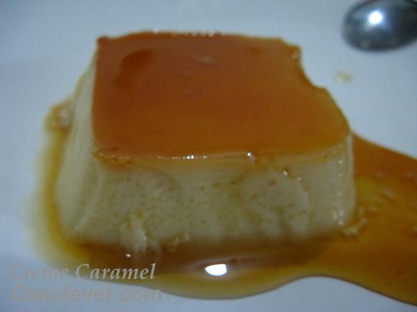 Creme Caramel Flan Puding by Cakefever.com