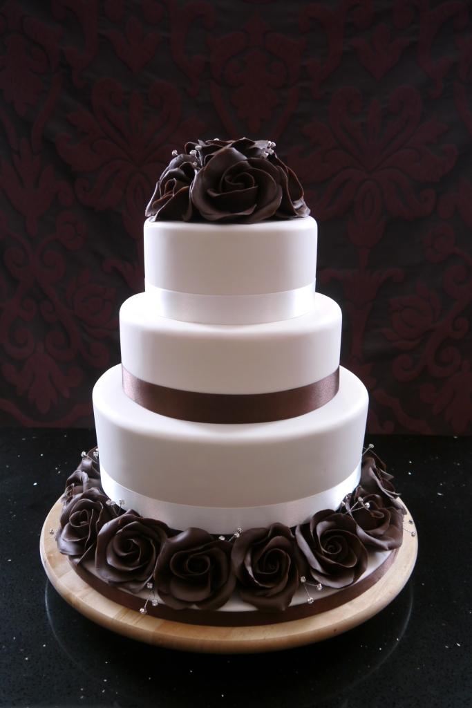 Rose Wedding Cake CakeFlix
