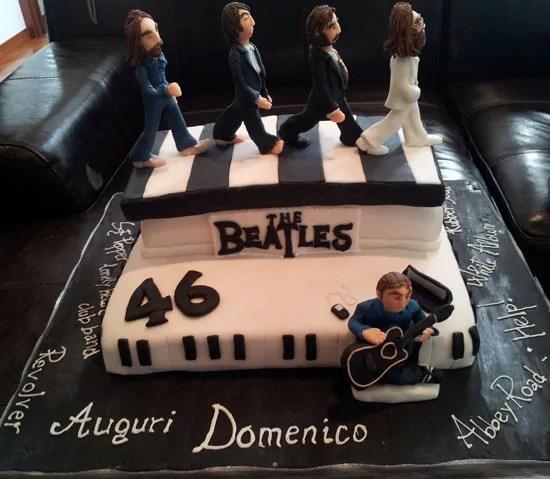 Torte con i Beatles  Cakemania dolci e cake design