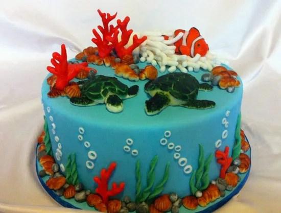 Torte spiaggia e mare per pensare alle vacanze  Cakemania dolci e cake design