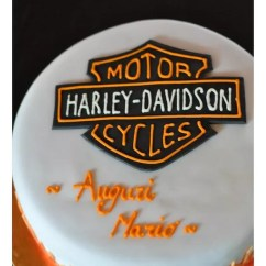 Harley Davidson Youtube What Color Is Your Parachute Flower Diagram Torte Per Un Motociclista - Cakemania, Dolci E Cake Design