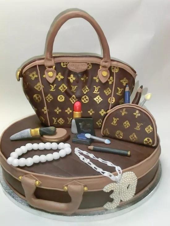 Torte A Forma Di Borsa Louis Vuitton