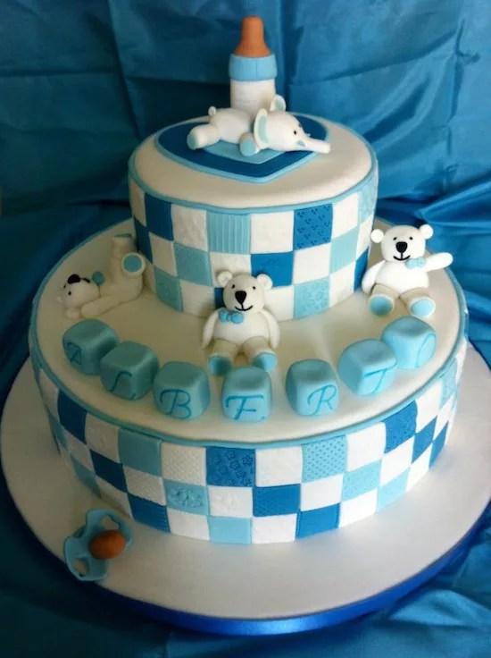 Tante idee per un baby shower torte decorate per bambini