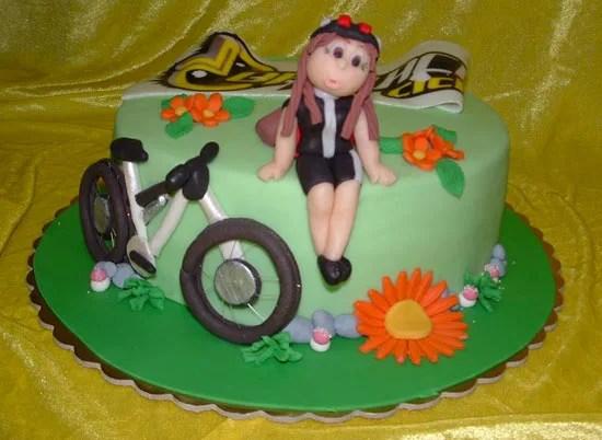 Torte per appassionati di ciclismo  Cakemania dolci e