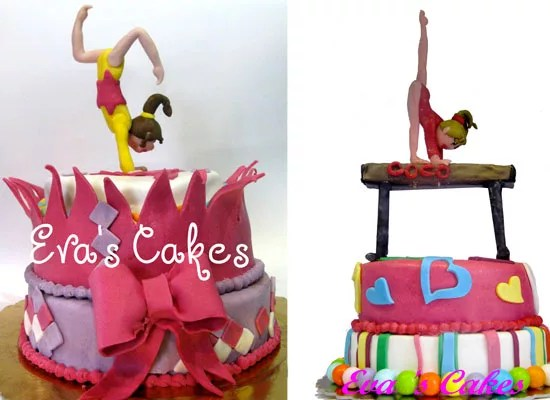 Torte ginnastica ritmica e artistica  Cakemania dolci e cake design