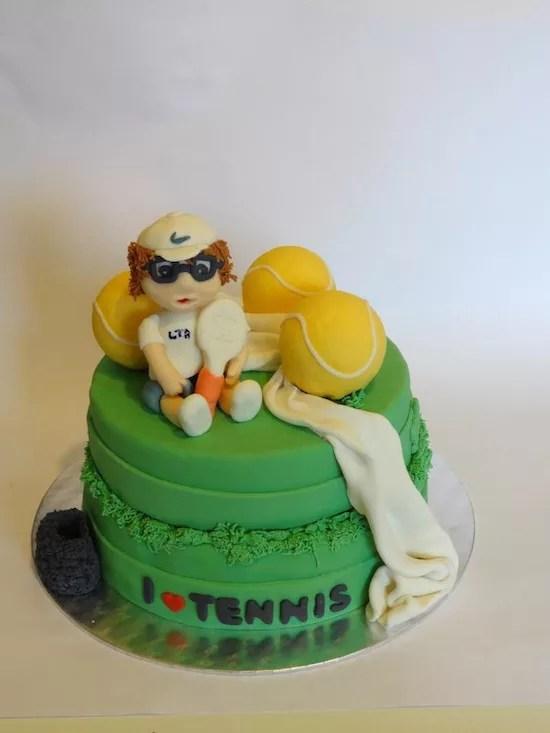 Torta Tennis Una Gallery Di Torte Di Cake Design Per Tennisti