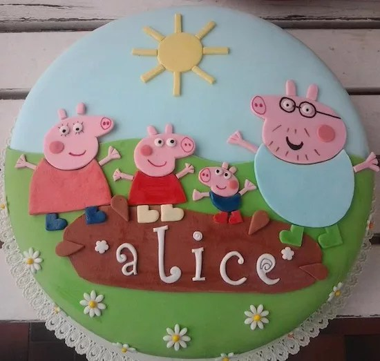 100 Torte Di Peppa Pig Dolci Decorati Con Peppa George Co