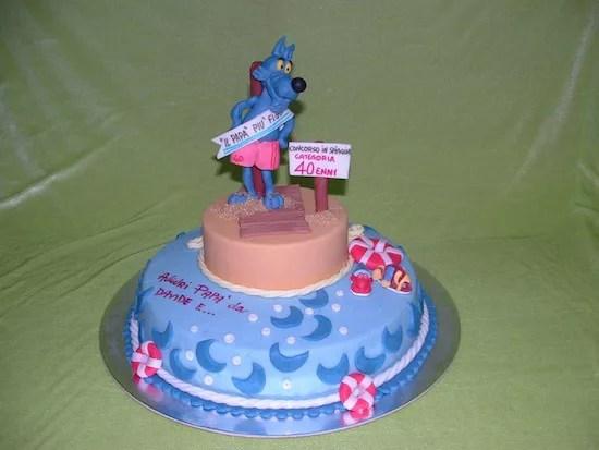 Torte per Lupo Alberto  Cakemania dolci e cake design