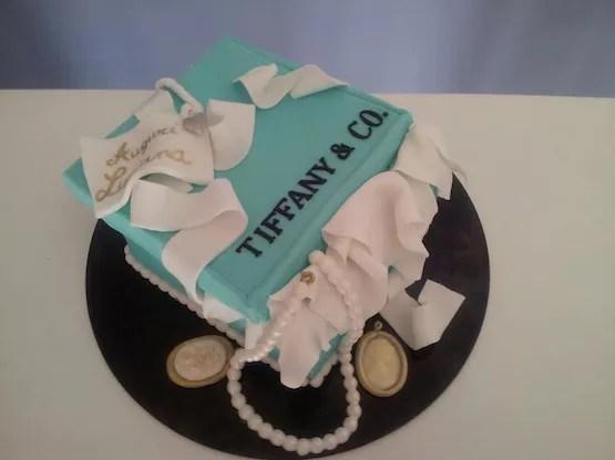 Torta Tiffany foto di torte di cake design con la scatola azzurra