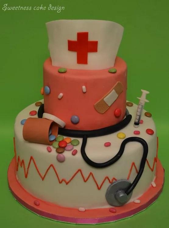 Torte per infermiere  dottori di ogni tipo