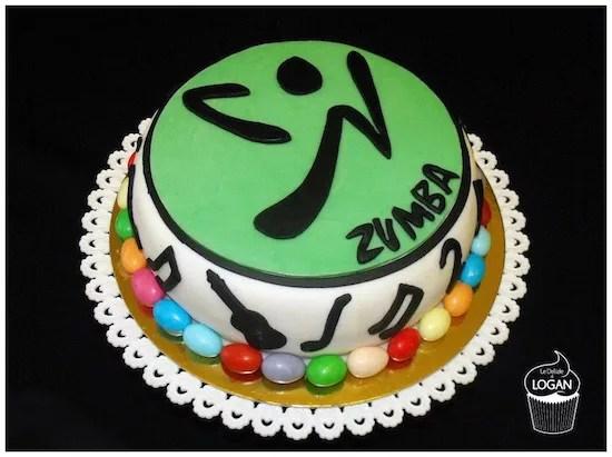 Torta zumba torte di cake design per chi si allena ballando