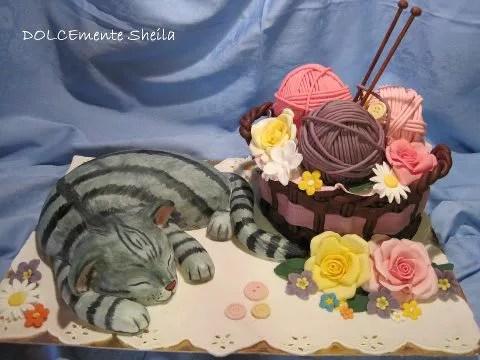 Torte a forma di gatto quando il cake design fa miao