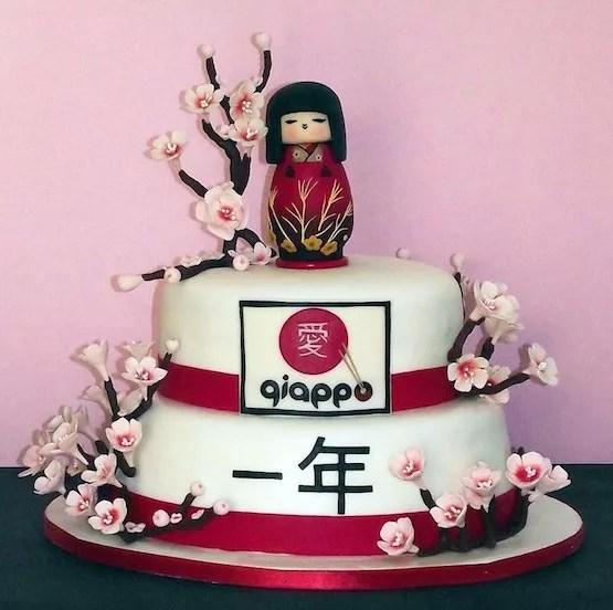 Torta Geisha Giappone Cakemania Dolci E Cake Design