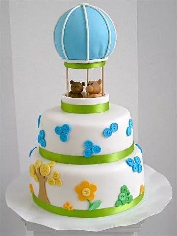 Torte a forma di mongolfiera  Cakemania dolci e cake design