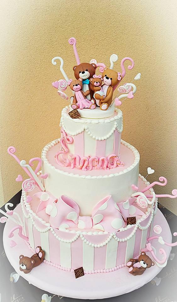 Torta compleanno 1 anno  idee per torte decorate con orsetti e peluche