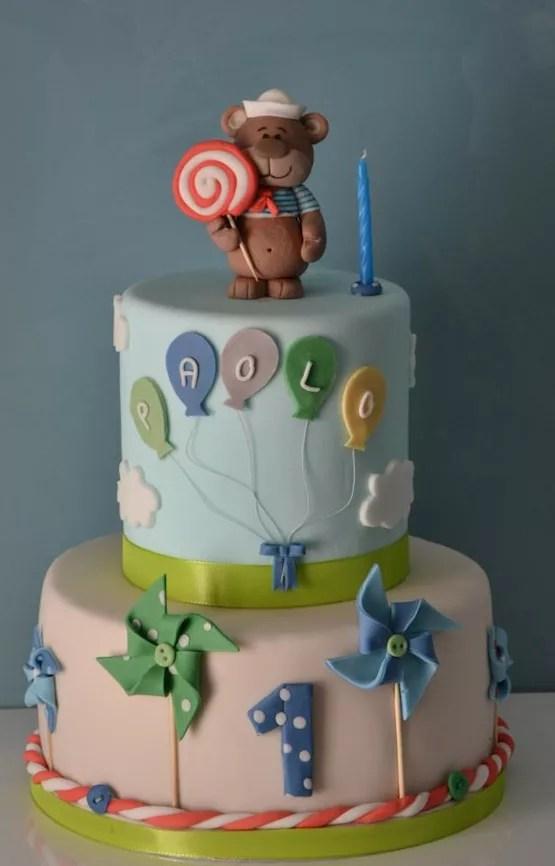 Torta compleanno 1 anno  idee per torte decorate con