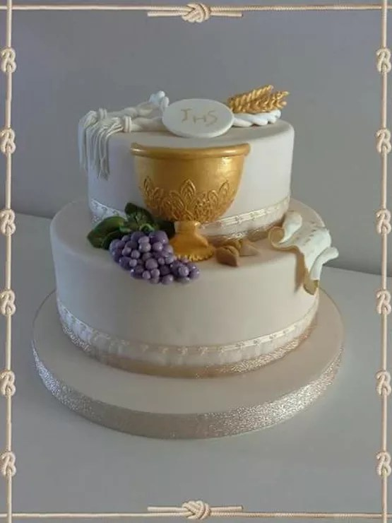 Torte per la prima comunione ma anche biscotti e cupcake