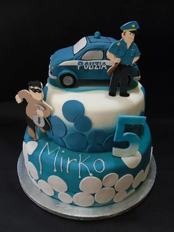 Torta per un poliziotto  Cakemania dolci e cake design