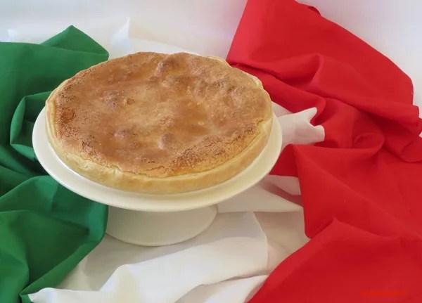 Torta Mazzini  ricetta di una torta patriottica