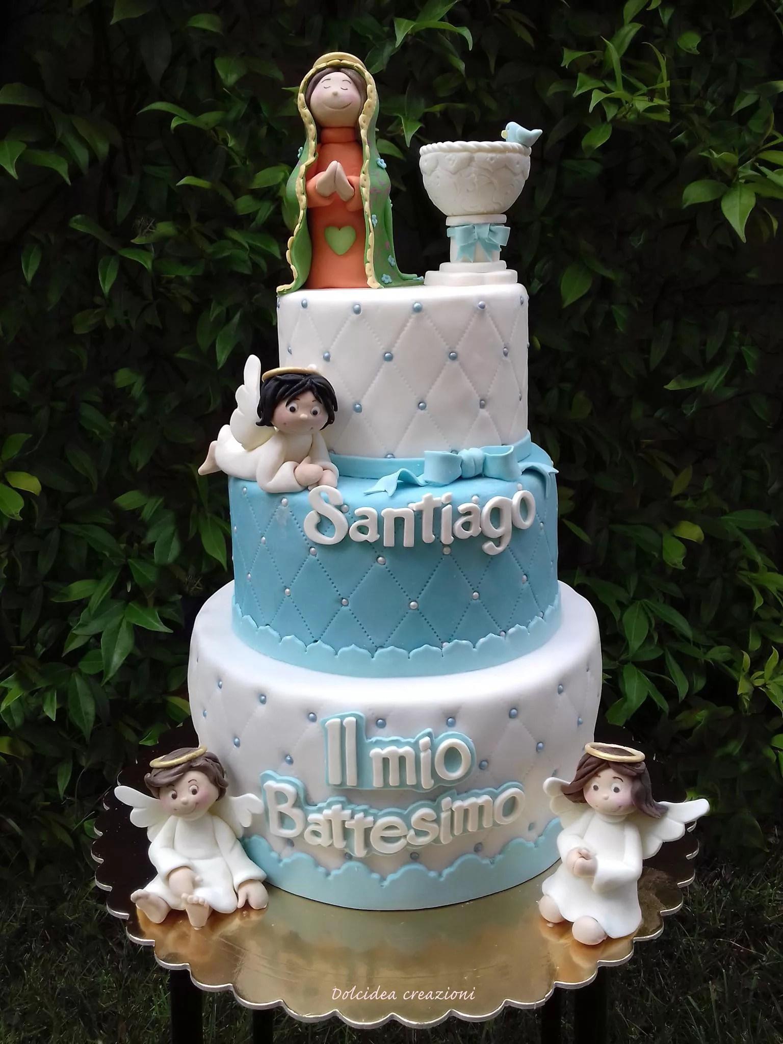 Torta battesimo idee di torte di cake design per maschio e femmina