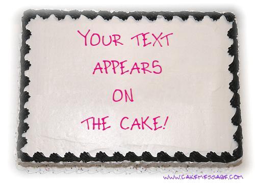 Happy Birthday Cake Generator